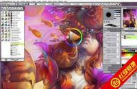 Corel Painter 12 简体中文破解版【世界领先的数码艺术软件】