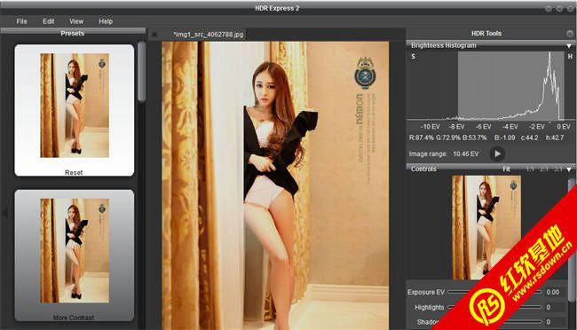 国外HDR效果处理软件 Unified Color HDR Express v2.1.0.10617 破解特别版