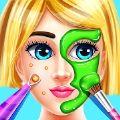 时尚美容院化妆