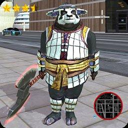 绳索功夫熊猫
