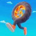 轮胎人赛跑